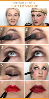 last minute how to flapper makeup