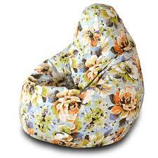 <b>Кресло</b>-<b>мешок груша Пазитифчик Марта</b> (жаккард) 145х100 см