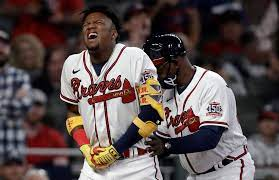 Ronald Acuna hit by pitch, avoids ...