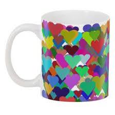 Кружка с цветной ручкой и ободком Love <b>мандала</b> #3338520 в ...