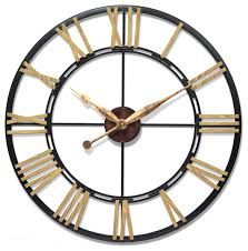 Small Picture Infinity Instruments Cologne 45 Oversized Large Wall Clock Steel