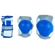 <b>Роликовая защита MaxCity</b> COLOR синий p.M