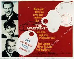 Film Stills Apartment Awards Oscars 1960 Awards Editorial Stock