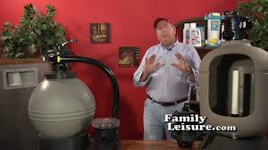 NEW - Pool School - 09 - Swimming Pool Sand Filter PART 1 of 2 | Family  Leisure - YouTube