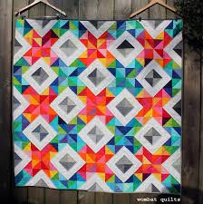 hst quilt block | WOMBAT QUILTS & x stitch sparke quilt Adamdwight.com