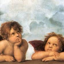 2 angels raphael my favorite painting