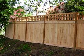 fence construction. wood fence construction