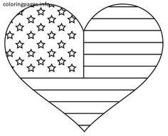 Coloring Pages Flags Holidays And Free