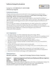 Resume Extraordinary Aws Resume