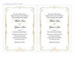 Microsoft Word Hearts Wedding Invitations Heart Scroll Design A7 Size 2 Per Page