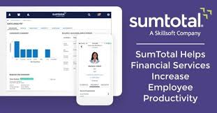 Sum Total Sumtotal Systems Helps The Financial Services Industry Keep Up With