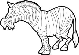 Cool zebra coloring pages nice coloring pages 1441. Printable Zebra Coloring Page For Kids Supplyme