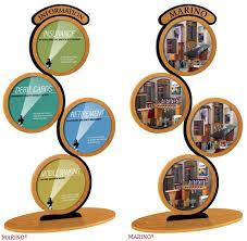Circular Display Stands Mesmerizing CIR32 Circular Wood Poster Display Wood Poster Frames Lobby