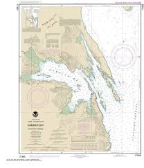 Alaska Nautical Charts 17362 Gambier Bay Stephens Passage Alaska Nautical Chart