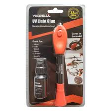 Uv Light Glue Kit Uv Light Glue Kit Clear Adhesive Liquid Plastic Welder 5 Seconds Repair Almost Anything