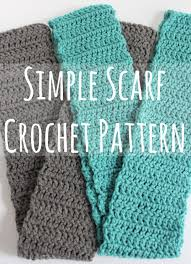 Double Crochet Scarf Patterns Simple Simple Scarf Crochet Pattern Video Make And Takes
