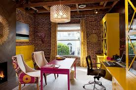 office styles. View In Gallery A Colorful Blend Of Contemporary And Eclectic Styles [Design: Artistic Designs For Living, Office N