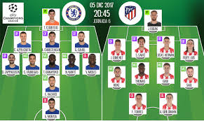 You are watching atlético madrid vs chelsea fc game in hd directly from the wanda metropolitano, madrid, spain, streaming live for your computer, mobile and tablets. Live Chelsea V Atletico Madrid Besoccer