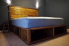 Wonderful DIY Platform Beds That You Can Easily Make