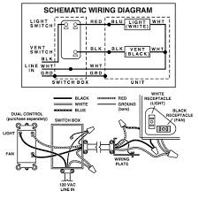 nutone bathroom fan light instructions Bathroom Light Fan Wiring Diagram Broan Exhaust Fan Wiring Diagram