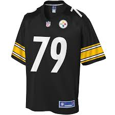 Pittsburgh Hargrave Black Jersey Javon Player Line Nfl Youth Steelers Pro -