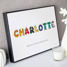 unique children s name prints canvases create preview on screen