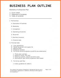 example of a business plan sample business plan outline happywinner co