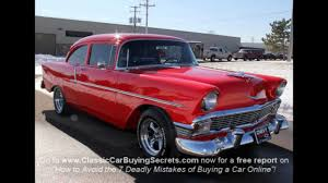 1956 Chevy 150 Post Classic Muscle Car for Sale in MI Vanguard ...