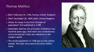 malthus theory malthus theory of population growth istiaqe ahmed tanim roll 117646 depertment of geography environment jagannath university dhaka 2