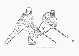 Small Picture Nhl Goalie Coloring Pages Hockey Coloring Sheets Pro Hockey Free