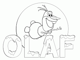 Free Coloring Printables Frozenlll