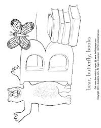 Letter B Coloring Abcs Free Coloring Pages For Kids Printable
