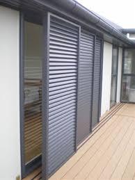 Exterior Bi Folding Aluminium Louvered Shutters  Buy Louver Aluminum Louvered Exterior Doors