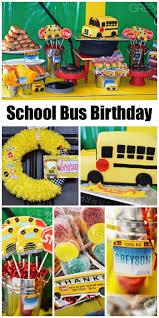 School Bus Party Decorations