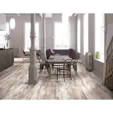 Kitchen Laminate Floor Tiles Shop Style Selections Natural Timber Whitewash Porcelain Thinset