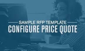 Sample Configure Price Quote (Cpq) Rfp Template | Apttus