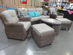 nice looking cosco outdoor furniture costco canada covers cushions with fire pit uk