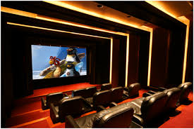 home theater ceiling lighting. this is closely approaching an ideal aesthetic design for a home theater recessed ceiling lights dark room palette sizeable screen stadium seating lighting u
