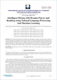 Resume Parsing Cool Parse Resume Resume Parsing Algorithm Igniteresumes Resume