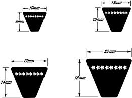 Contitech Goodyear Gy Metric V Belts Xpa Spa Xpb Spb Xpc
