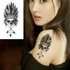 водостойкая временная татуировка наклейка животное волк лев орел тату флэш тату