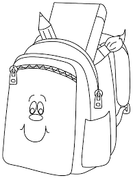 Small Picture Backpack Coloring Page Miakenasnet