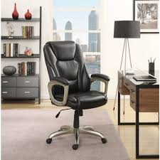 office chair with memory foam highback seat home workstation furniture black new
