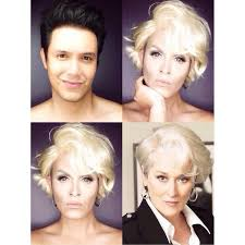 paolo ballesteros cleverly uses makeup to turn himself into celebrities