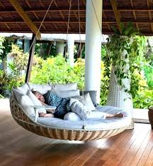 outdoor daybed swing round diy outdoor daybed swing