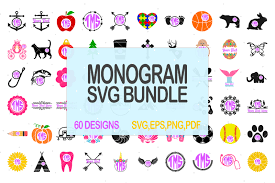 Choose from 2300+ cupcake wrapper graphic resources and download in the form of png, eps, ai or psd. Free Monogram Svg Bundle Svg Sale Svg Discount Crafter File