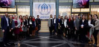 global careers sais students ing unhcr in 2015 geneva trek