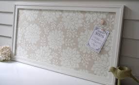 decorative magnetic board framed bulletin