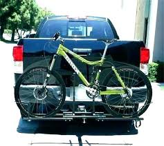 bicycle rack for truck hitch or truck bed mounted bike carrier