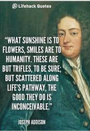Joseph Addison on laughter! on Pinterest | Gratitude Quotes ... via Relatably.com